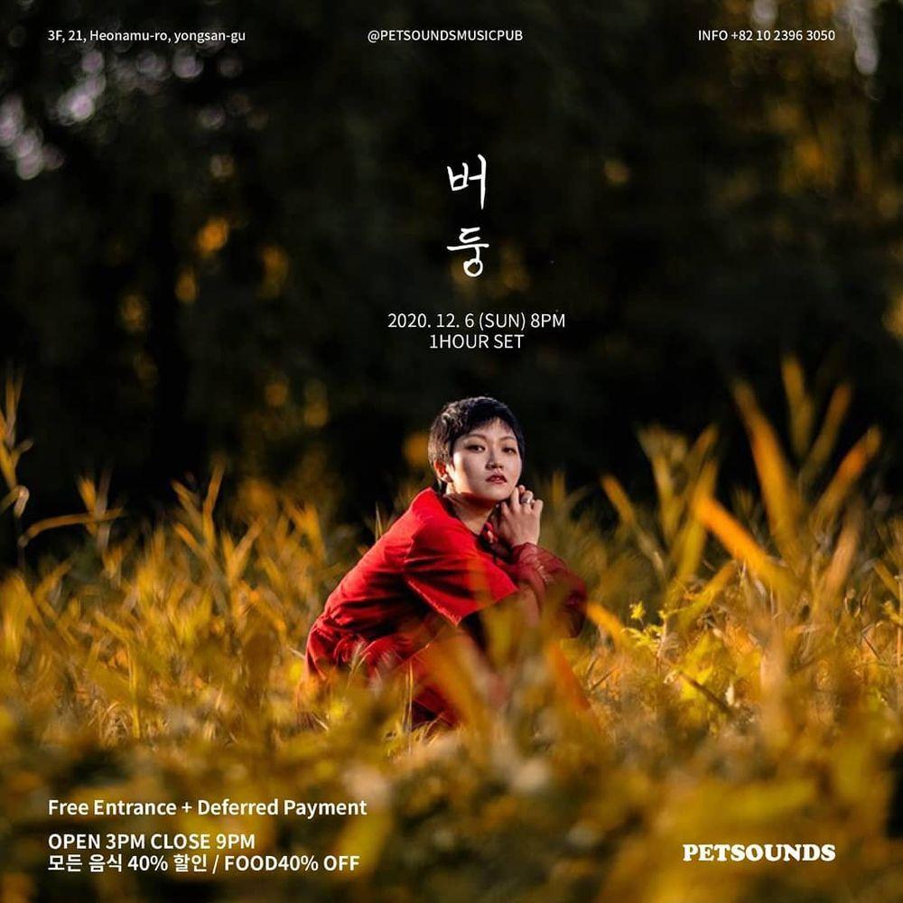 펫사운즈 인디라이브 - 버둥 Live poster