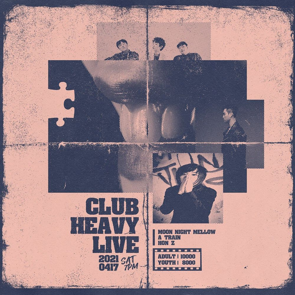 CLUB HEAVY LIVE Live poster