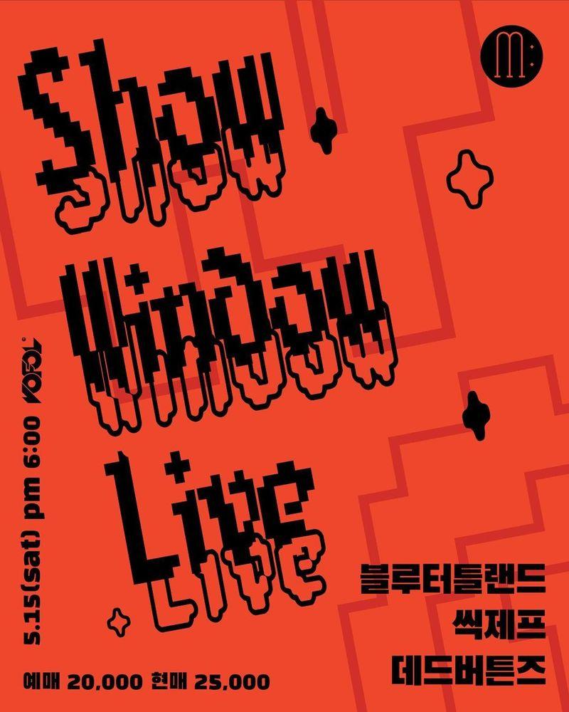 MUSI:UM SHOW WINDOW LIVE vol.01 Live poster