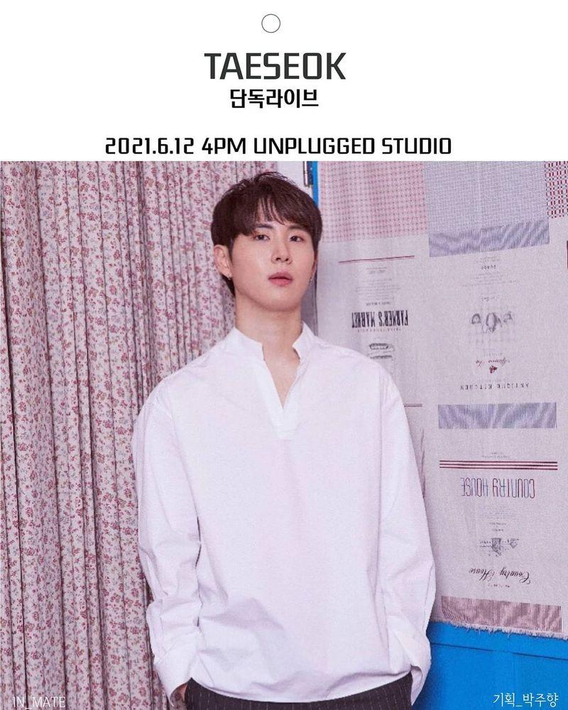태석 단독 라이브 Live poster