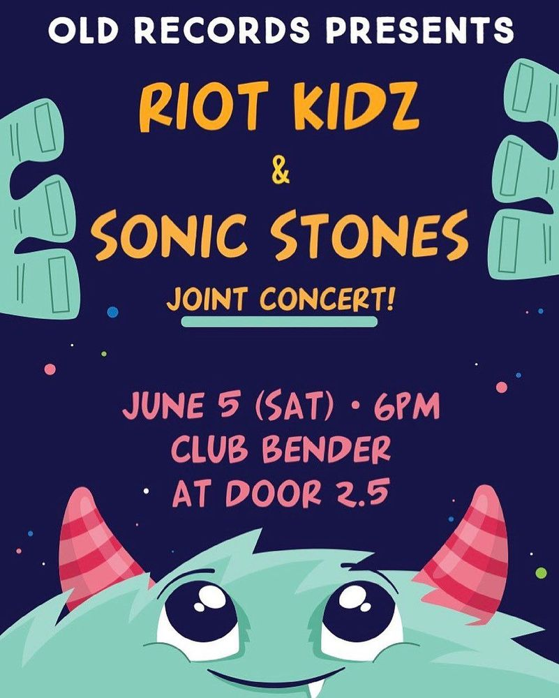 RIOT KIZ & SONIC STONES JOINT CONCERT! Live poster