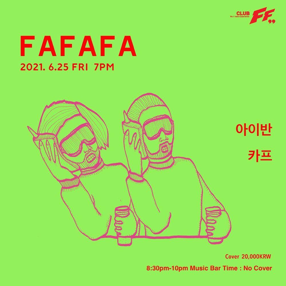 FAFAFA Live poster