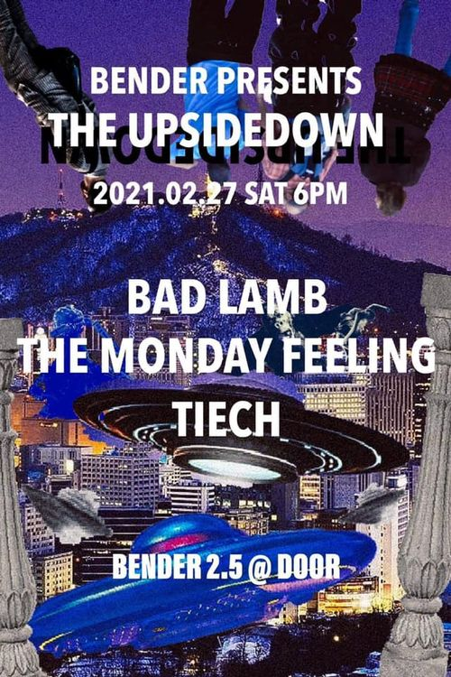THE UPSIDEDOWN Live poster