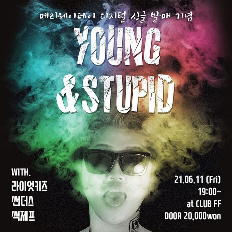 YOUNG & STUPID Live poster