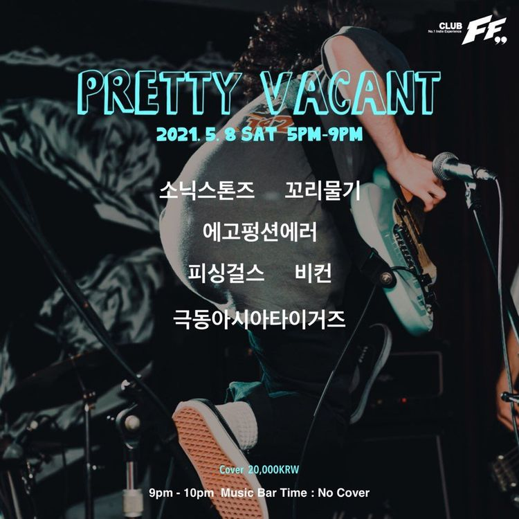 PRETTY VACANT Live poster
