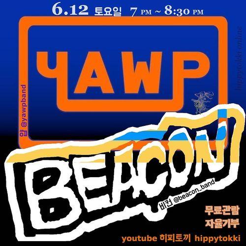 BEACON X YAWP (온라인) Live poster
