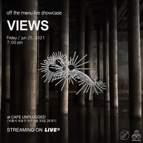 off the menu live showcase [VIEWS] Live poster